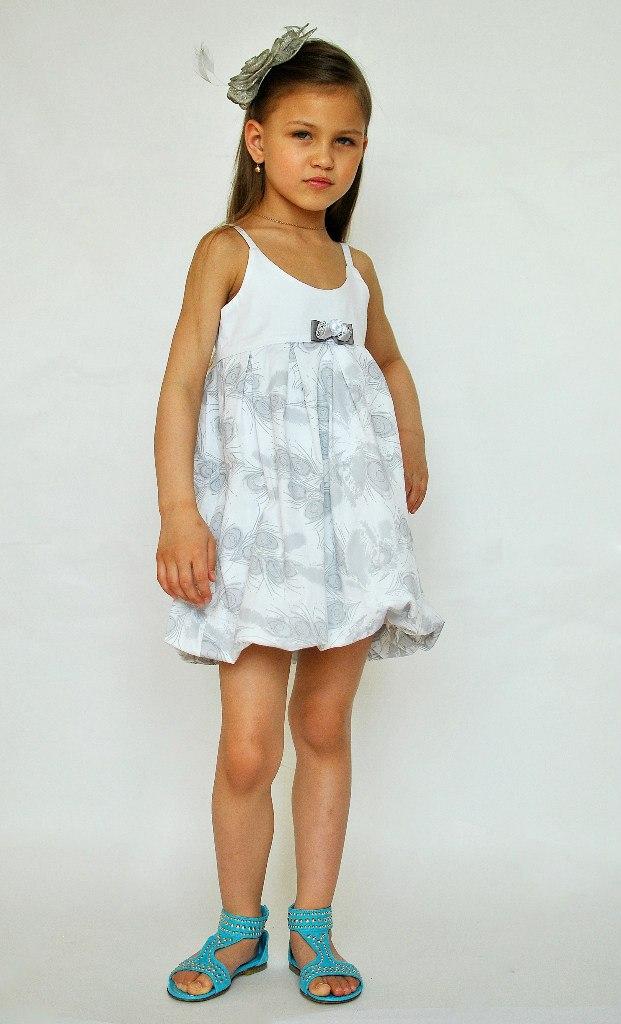 Фото 1: Нарядный детский сарафан DODiPETTO для девочек