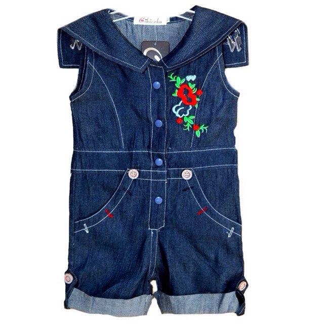 Фото 1: Детский комбинезон джинсовый
