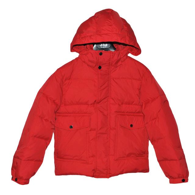Фото 1: Красный пуховик Аdd для мальчиков