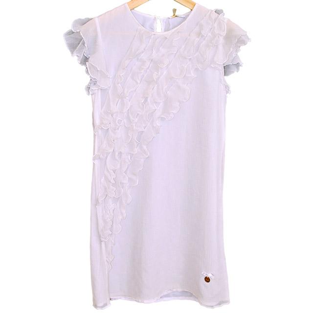 Фото 1: Нарядное белое платье Liu-Jo