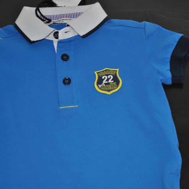 Фото 3: Синяя футболка для малышей Frankie morello