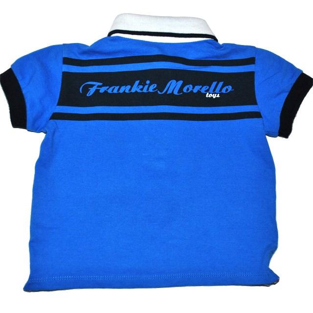 Фото 2: Синяя футболка для малышей Frankie morello