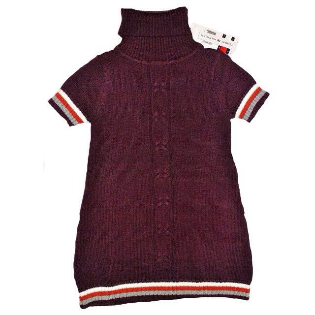 Фото 1: Детское платье TOMMY HILFIGER вязанное