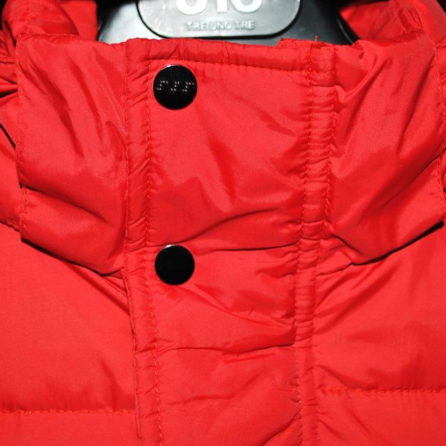 Фото 3: Красный пуховик Аdd для мальчиков