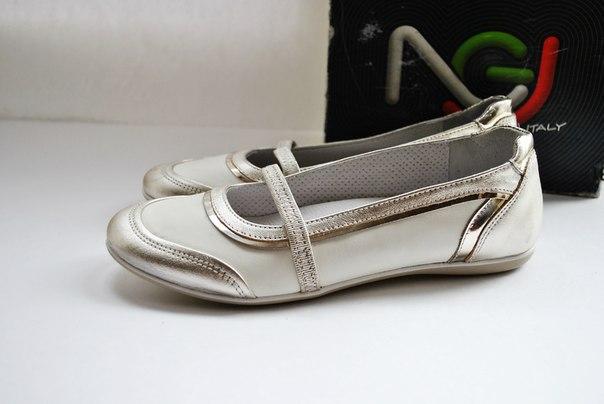 Фото 2: Итальянские кожаные туфли Nero Giardini для девочек