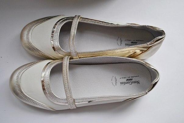 Фото 3: Итальянские кожаные туфли Nero Giardini для девочек