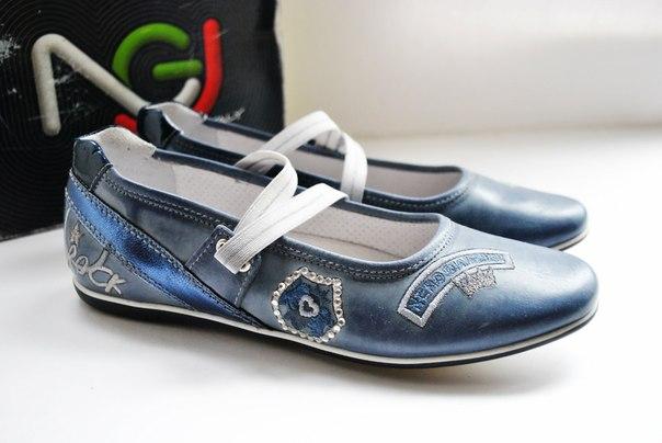 Фото 2: Кожаные туфли Nero Giardini для девочек
