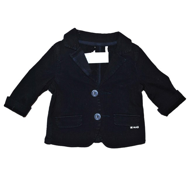 Фото 1: Детский синий пиджак для маленьких детей