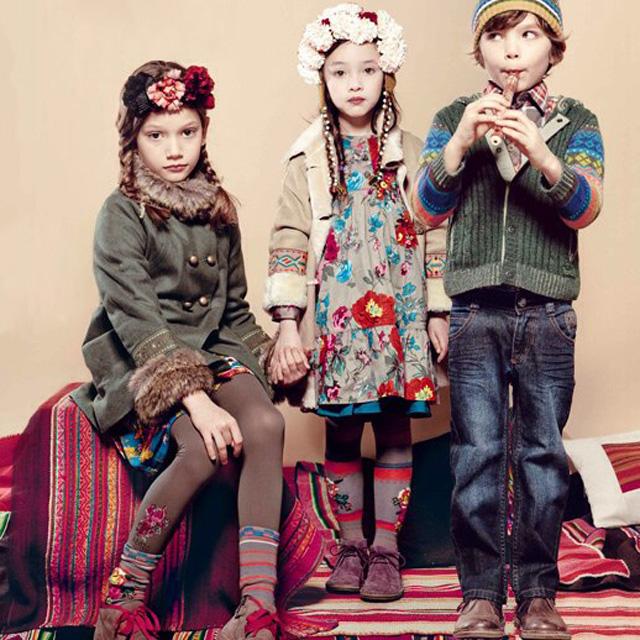 Детское платье кензо