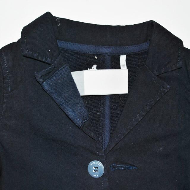 Фото 4: Детский синий пиджак для маленьких детей