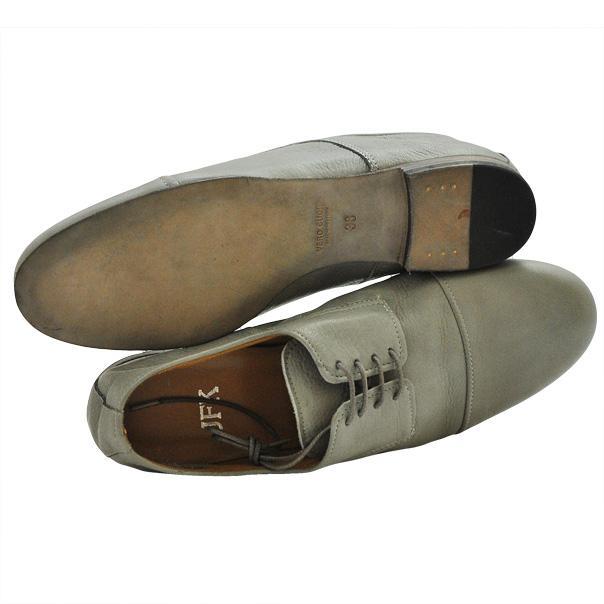 Классические туфли выполнены из натуральной кожи, подошва кожаная. Картинка: 4