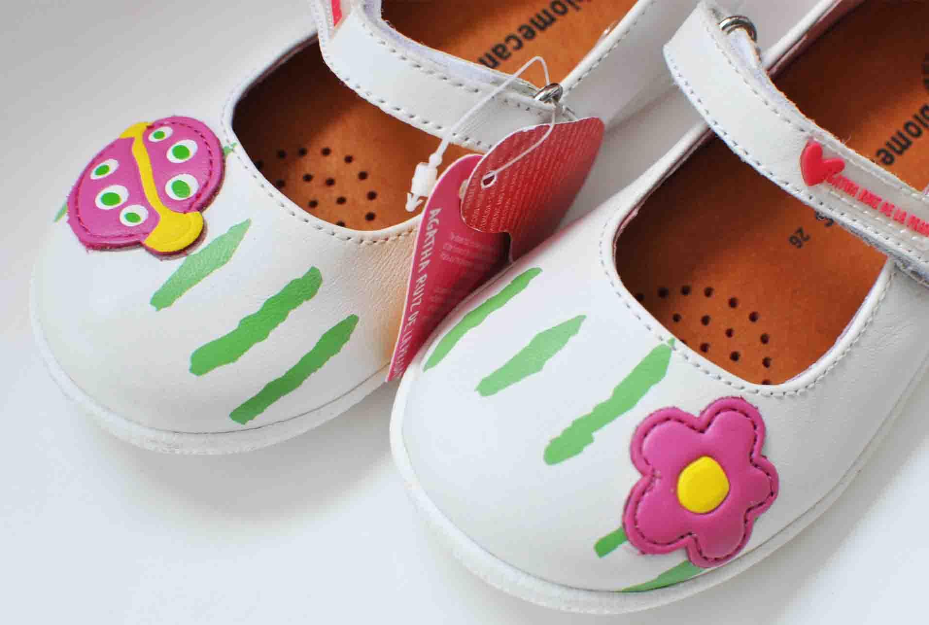 Фото 2: Стильные туфли Agatha Ruiz для малышей