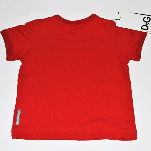 Фото 3: Красная футболка Dolce Gabanna для детей