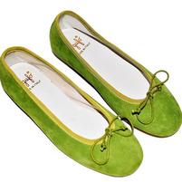 Фото 1: Туфли для девочек il gufo оливкового цвета