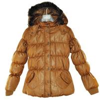 Фото 1: Куртка ORCHESTRA для девочек коричневого цвета