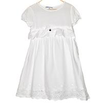 Нарядное белоснежное платье Patrizia Pepe для девочек. Фото: 1