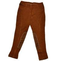 Фото 1: Коричневые брюки для девочек ZARA