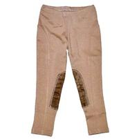 Фото 1: Бежевые брюки для девочек ZARA
