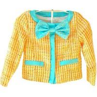 Фото 2: Жеолто-березовый пиджак Miss Grant