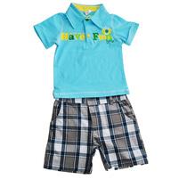 Прекрасный вариант для лета детский комплекс шорты и футболка из 100% хлопка