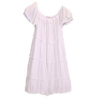 Шифоновое платье Liu-Jo молочного цвета. Фото: 1