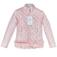 Стильная весенняя куртка, розового цвета. Фото: 1