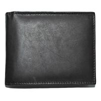 Мужской кожаный кошелек темно-коричневого цвета. Фото 1