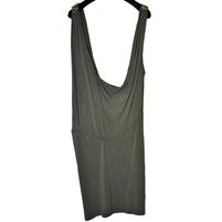 Брендовое платье JO NO FUI зеленого цвета. Фото: 1