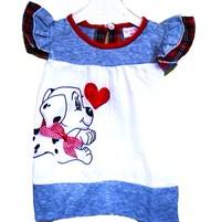 Фото 1: детское платье с собачкой