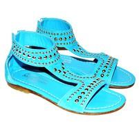 Фото 1: Кожаные сандалии Andrea Montelparo