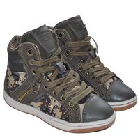 Детские кроссовки Geox камуфляжного цвета. Фото: 1
