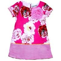 Фото 2: Платье для девочек DKNY в яркий цветочек