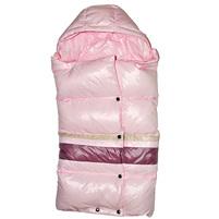 Фото 1: Легкий и теплый пуховый конверт Аdd розового цвета