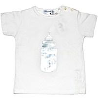 Фото 1: Белая футболка Simoneta для малышей