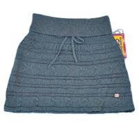 Фото 1: Стильная вязанная юбка для девочек TO BE TOO
