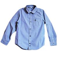 Фото 1: Классическая синяя рубашка Nautica