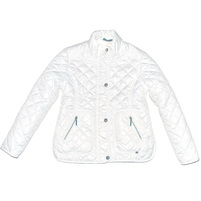 Стильная весенняя куртка, красивого молочного цвета. Фото: 1