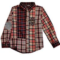 Фото 1:  Рубашка утепленная в полоску Catimini