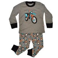 Фото 1: Серая пижама с рисунком Gap baby