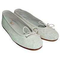 Фото 1: Туфли для девочек il gufo белого цвета