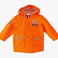 Фото 1: Оранжевая утепленная куртка Catimini