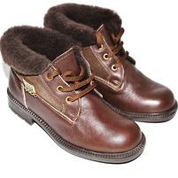 Фото 1: Зимние ботинки для девочек Pinocchio