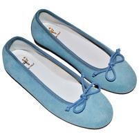 Фото 1: Туфли для девочек il gufo синего цвета