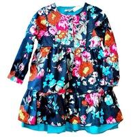 Фото 2: Детское платье Kenzо яркие цветы