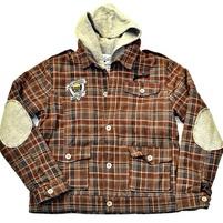Фото 1: Утепленная куртка ikks с капюшоном